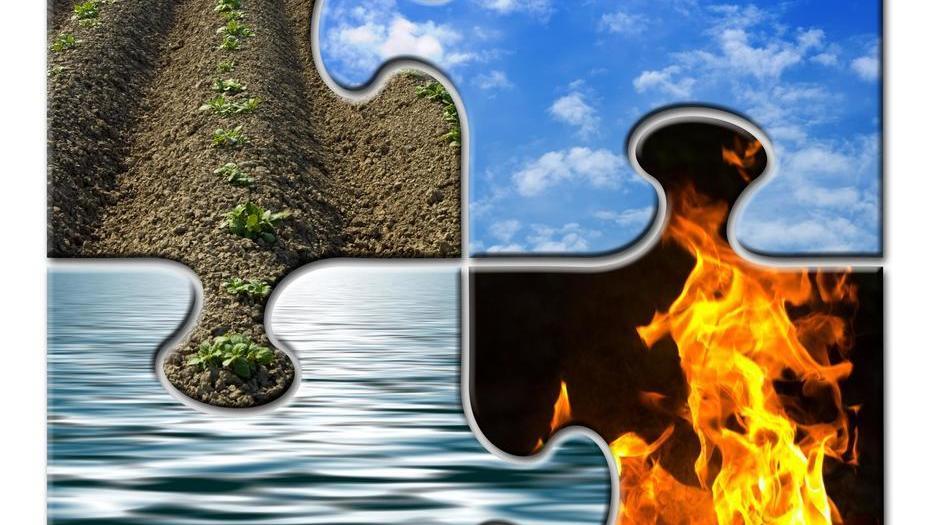 Elementos de los signos del zodiaco agua aire tierra y - Signos del zodiaco de tierra ...